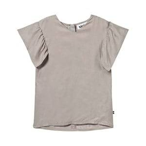 Molo Girls Tops Grey Ramsi Blouse Opal Grey