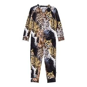 Image of Molo Girls All in ones Multi Aura Jumpsuit Wild Cats