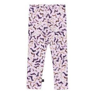 Image of Molo Girls Bottoms Pink Stefanie Leggings Woof Woof