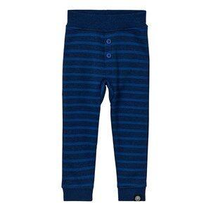 Molo Boys Bottoms Blue Sam Pants Blue Melange Stripe
