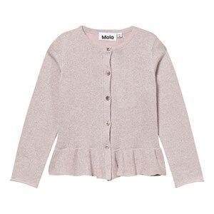 Image of Molo Girls Jumpers and knitwear Pink Gulia Cardigan Rosewater Glitter
