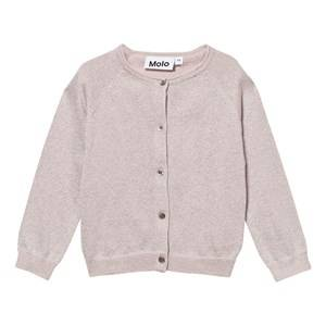 Image of Molo Girls Jumpers and knitwear Pink Gladys Cardigan Rosewater Glitter