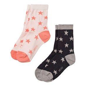 Molo Unisex Underwear Pink Nesi 2-Pack Socks Rosewater