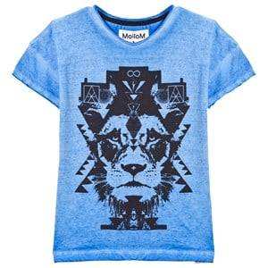 Molo Boys Tops Blue Reilly T-Shirt Flourentic Blue