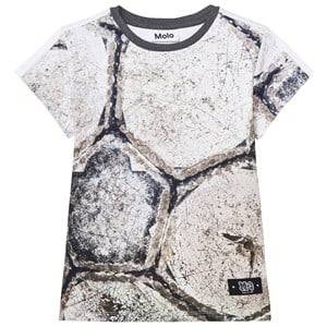 Molo Boys Tops Grey Rider T-Shirt Worn Out Soccer