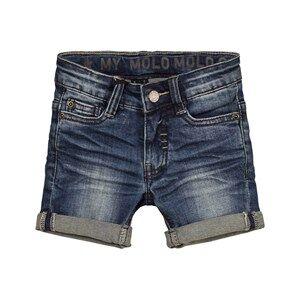 Molo Boys Shorts Blue Aslak Shorts Blue Indigo