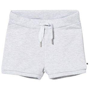Molo Girls Shorts Grey Alma Shorts Snow Melange