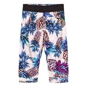 Image of Molo Girls Bottoms Multi Aldora Pants Pineapple