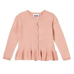 Image of Molo Girls Jumpers and knitwear Pink Gulia Cardigan Poppies