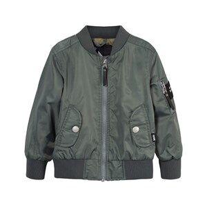 Molo Unisex Coats and jackets Green Hiker Jacket Metal Green