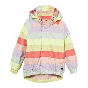 Molo Girls Coats and jackets Multi Waiton Rain Jacket Girly Rainbow