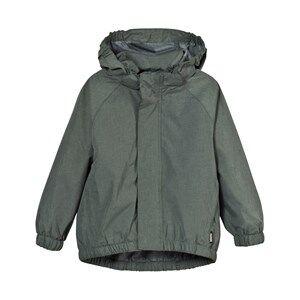 Molo Unisex Coats and jackets Green Waiton Rain Jacket Metal Green Melange