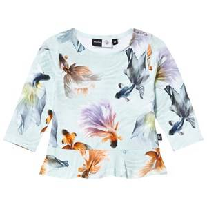 Molo Girls Tops Multi Elisabeth T-shirts Long Sleeve Graceful Swimmers