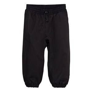 Image of Molo Unisex Bottoms Black Haven Rain Pants Black