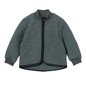 Image of Molo Unisex Coats and jackets Green Husky Soft Shell Jacket Metal Green
