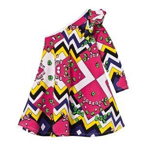 The BRAND Girls Private Label Dresses Multi One Shoulder Dress Multi Color