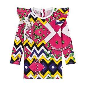 The BRAND Girls Private Label Dresses Multi Flounce Dress Multi Color