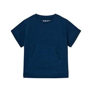 The BRAND Unisex Private Label Tops Blue Raw Tee Hood Blue