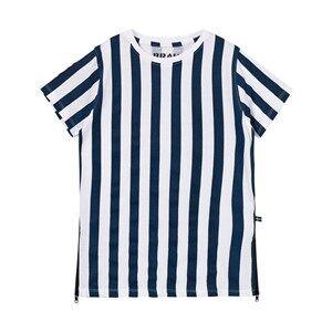 The BRAND Girls Private Label Dresses Blue Long Tee Dress Blue Stripe