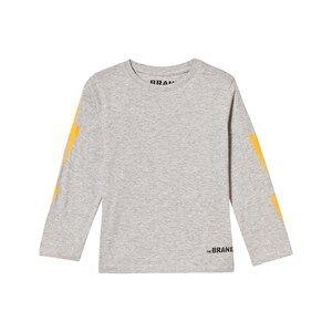The BRAND Unisex Private Label Tops Grey Boom Long Tee Grey Melange