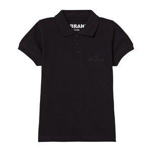 The BRAND Unisex Private Label Tops Black Pique Patch Black
