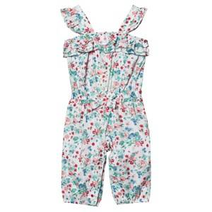 Image of Mayoral Girls All in ones Multi Multi Floral Jumpsuit