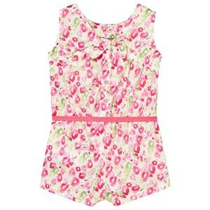 Image of Mayoral Girls All in ones Pink Pink Floral Print Playsuit