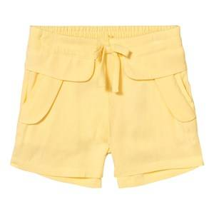 Image of Chloé Girls Shorts Yellow Yellow Woven Shorts