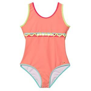 Image of Chloé Girls Swimwear and coverups Pink Pink Cut Out Front Swimsuit