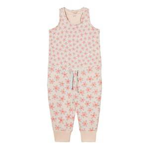 Image of Stella McCartney Kids Girls All in ones Pink Flo Jumpsuit with Daisy Print