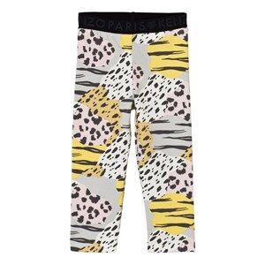 Image of Kenzo Girls Bottoms Multi Multi Tiger Print Leggings
