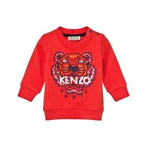 Kenzo Boys Jumpers and knitwear Orange Orange Tiger Emrbroidered Sweatshirt