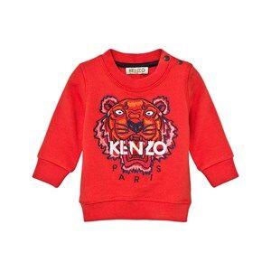 Kenzo Boys Jumpers and knitwear Orange Orange Tiger Emrbroidered Sweatshirt