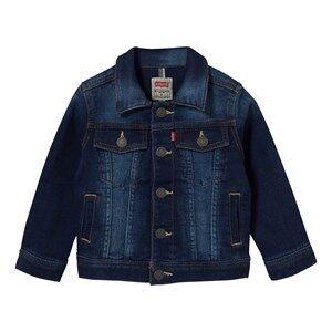 Levis Kids Girls Coats and jackets Blue Mid Wash Jog Jean Jacket