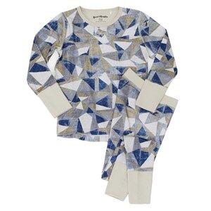 Beau & Rooster Unisex Nightwear Blue Urban Camo Pyjamas Moonstruck