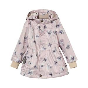 Mini A Ture Girls Coats and jackets Pink Wiebke K Jacket Aquarelle Flower