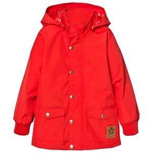Mini Rodini Unisex Coats and jackets Red Pico Jacket Red