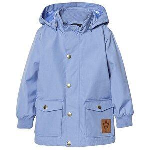 Mini Rodini Unisex Coats and jackets Blue Pico Jacket Light Blue