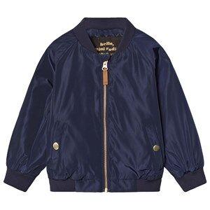 Mini Rodini Unisex Coats and jackets Navy Frog Baseball Jacket Navy