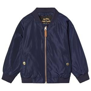 Mini Rodini Unisex Coats and jackets Navy Frog Baseball Jacket Navy