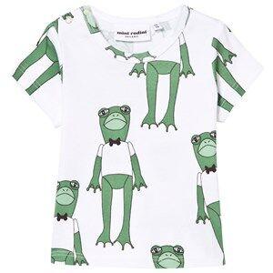 Mini Rodini Unisex Tops Green Frogs Tee Green
