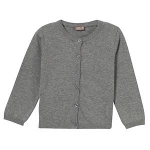 Hust&Claire; Girls Jumpers and knitwear Grey Knit Cardigan Light Grey Melange