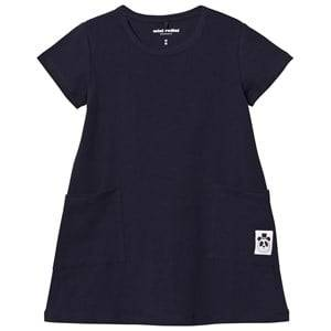 Mini Rodini Girls Dresses Navy Basic Dress Navy