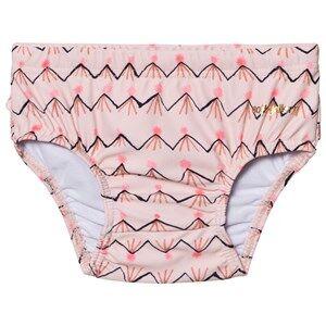Soft Gallery Girls Swimwear and coverups Pink Mina Swim Pants Scallop Shell