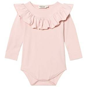 MarMar Copenhagen Girls All in ones Pink Bibbi Jersey Body Pale Blush