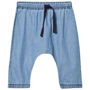 MarMar Copenhagen Unisex Bottoms Blue Pico Trousers Light Indigo