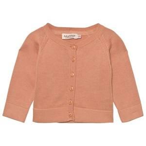 Image of MarMar Copenhagen Girls Jumpers and knitwear Pink Totti Cardigan Dusty Coral