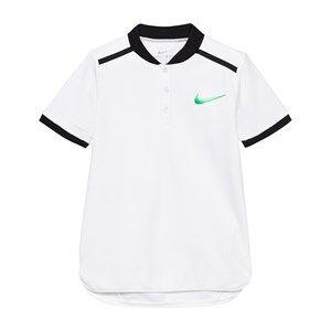 NIKE Boys Tops White White Advance Tennis Polo