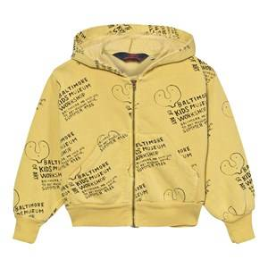 The Animals Observatory Unisex Jumpers and knitwear Yellow Seahorse Hoodie Mustard Kids Museum