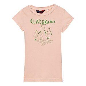 The Animals Observatory Girls Dresses Pink Gorilla Dress Quartz Clatskaine